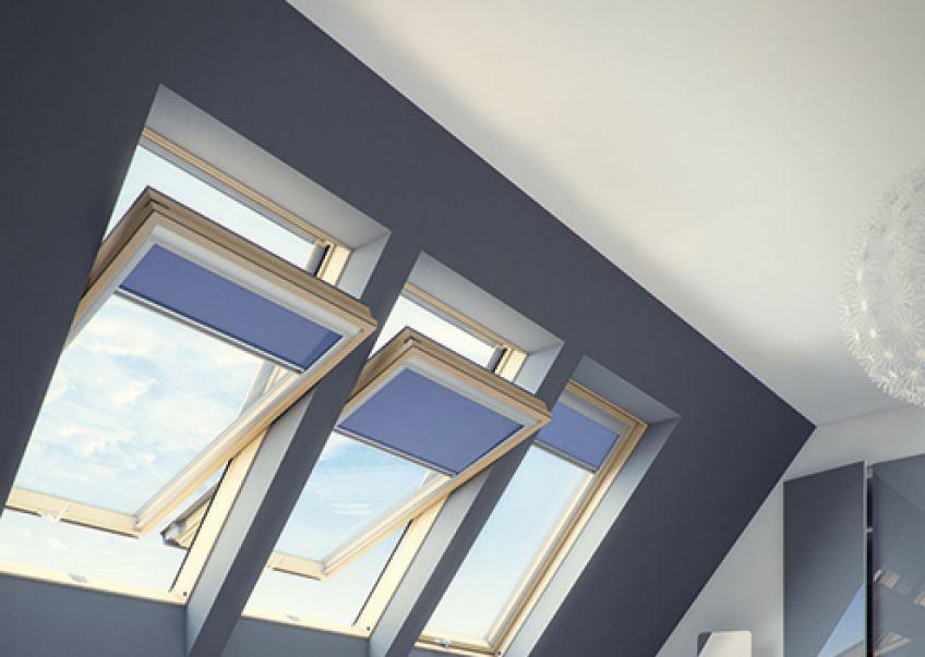 Окно FAKRO для мансард со среднеповоротным открыванием