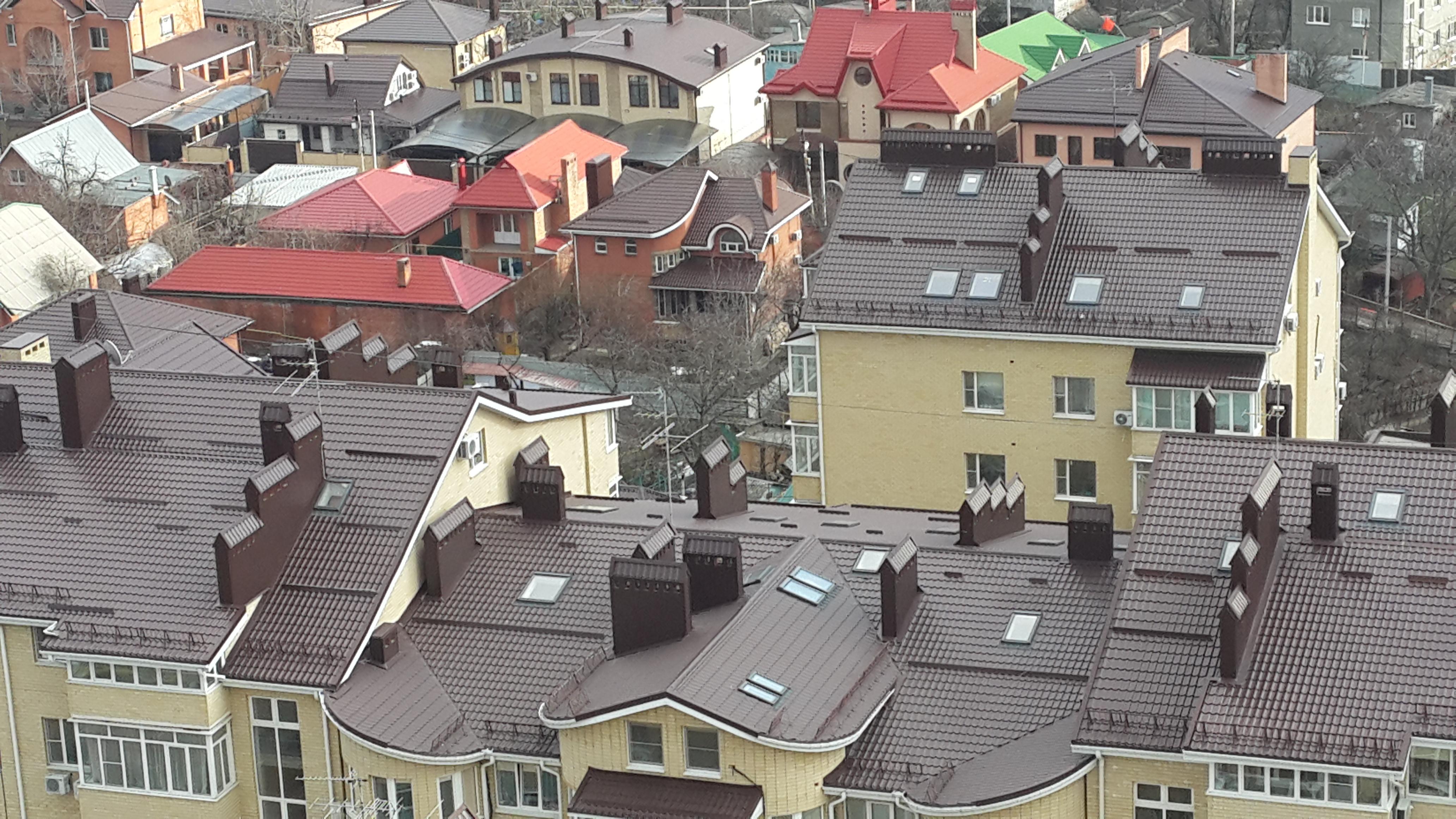 Крыши Ростова